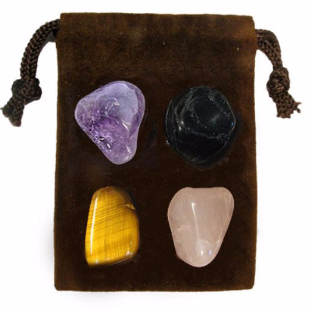 ENERGY KIT Crystal Healing Set - PSYCHIC ATTACK - Crystal Rock Emporium