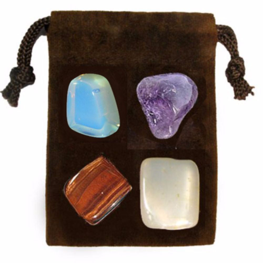 ENERGY KIT Crystal Healing Set - PSYCHIC POWER - Crystal Rock Emporium