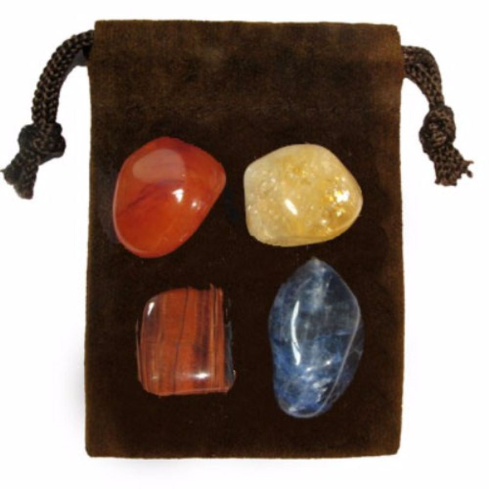 ENERGY KIT Crystal Healing Set - PUBLIC SPEAKING - Crystal Rock Emporium