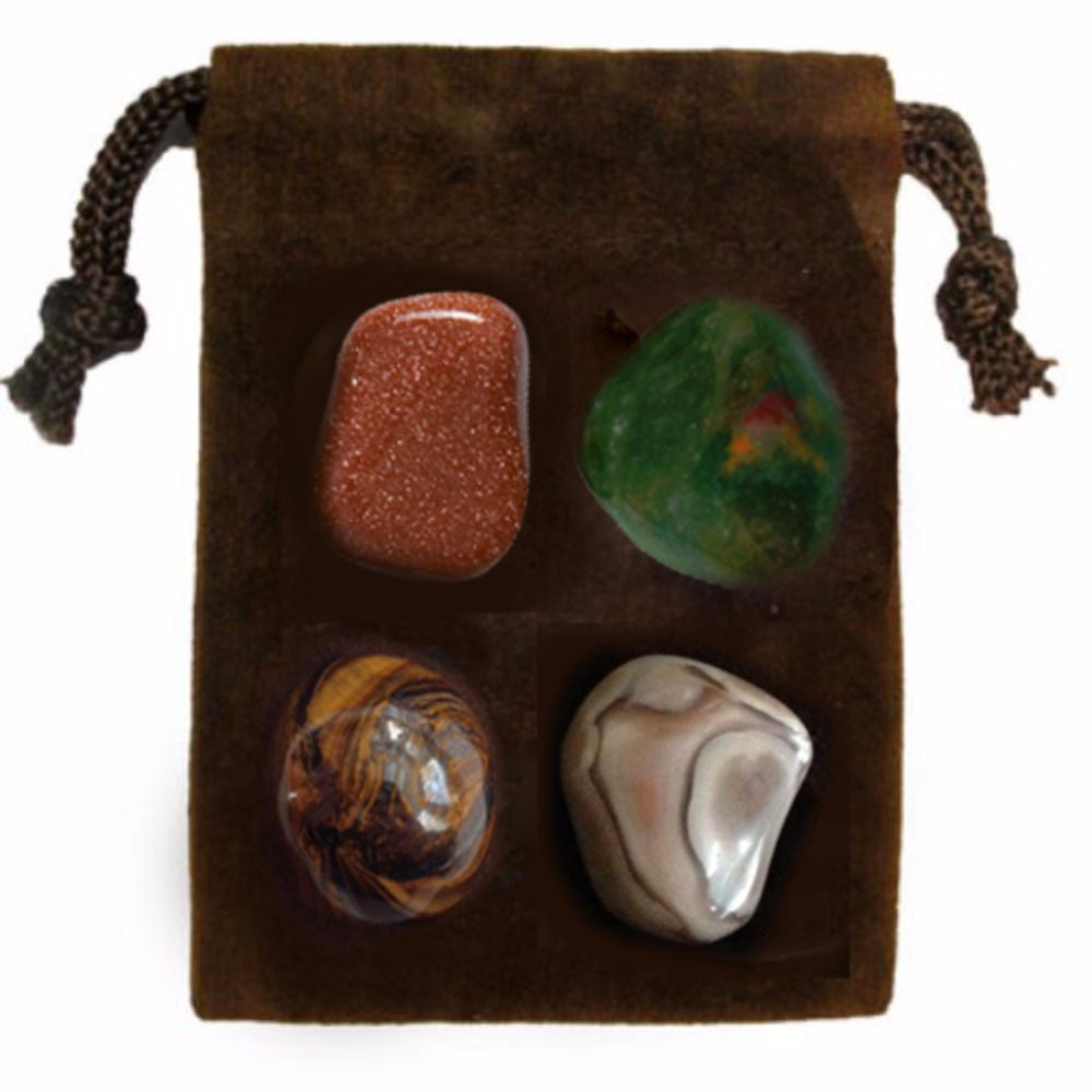 ENERGY KIT Crystal Healing Set - STRENGTH - Crystal Rock Emporium