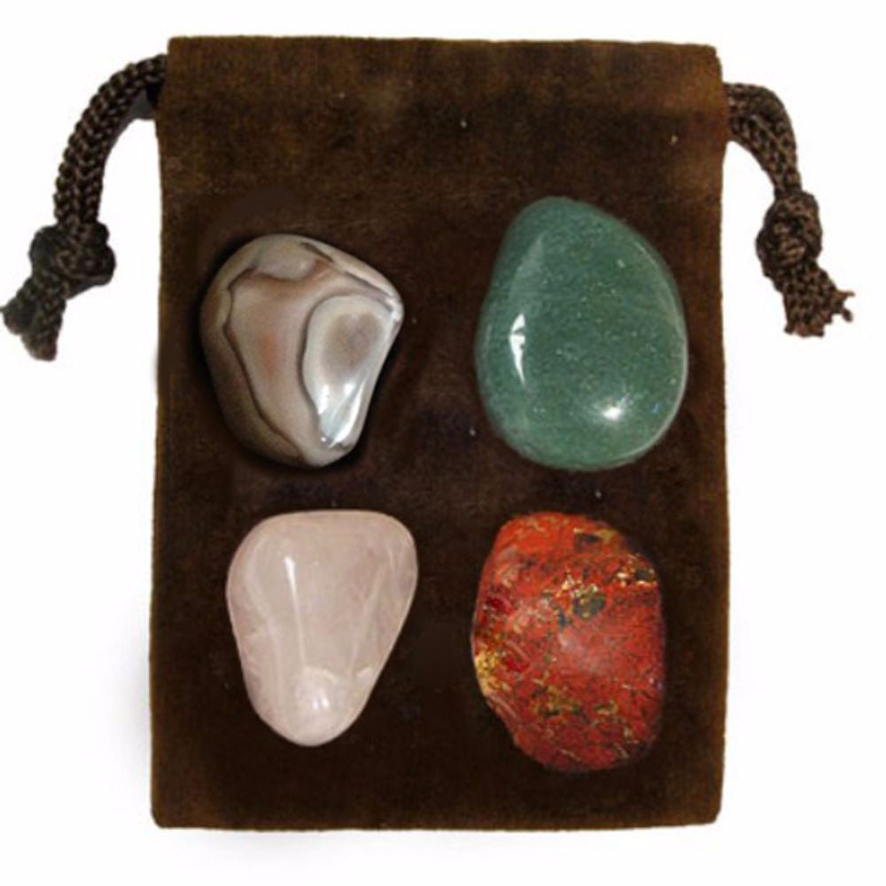 ENERGY KIT Crystal Healing Set - STRESS - Crystal Rock Emporium