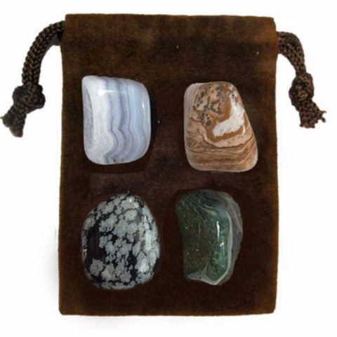 ENERGY KIT Crystal Healing Set - TRANQUILITY - Crystal Rock Emporium