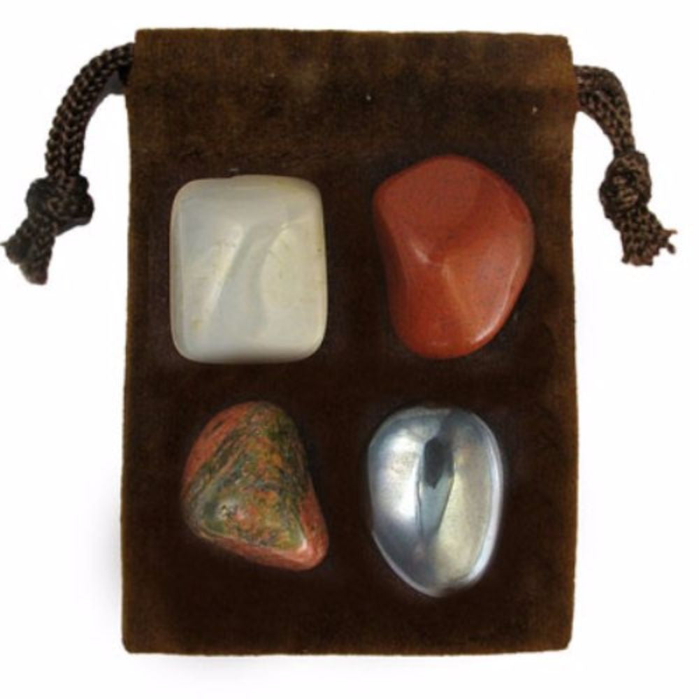 ZODIAC KIT Crystal Healing Set - SCORPIO - Crystal Rock Emporium