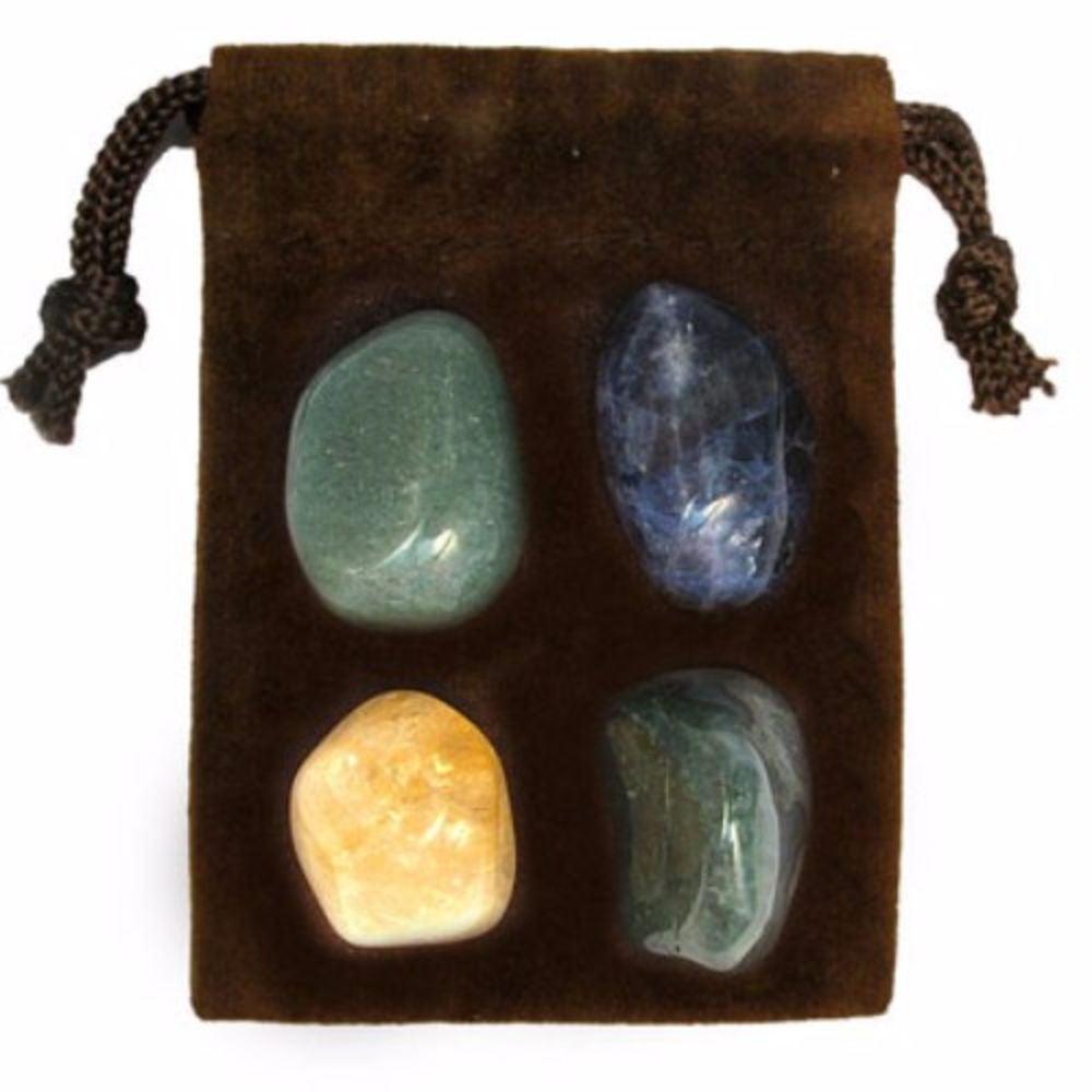 ZODIAC KIT Crystal Healing Set - VIRGO - Crystal Rock Emporium