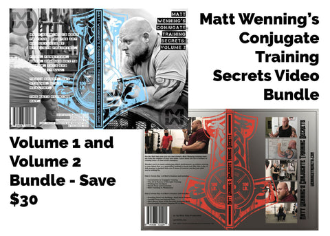 Conjugate Training Secrets Video Bundle