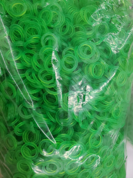 Green PVC Washers ( set of 10) $1.99