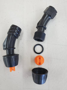 Fan pattern single nozzle (hdpe-corrosion resistant)