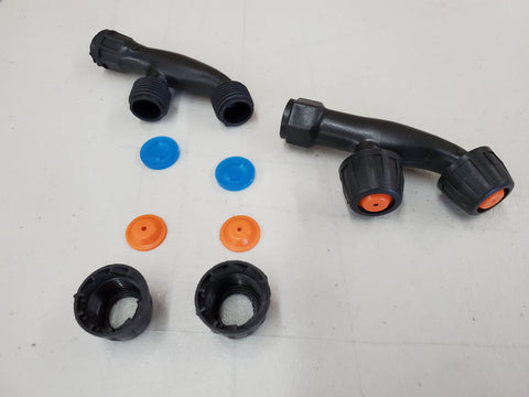 New double cone hdpe nozzle