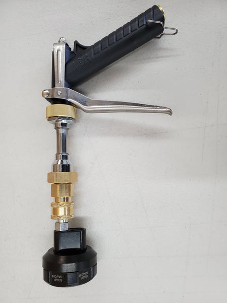 New 6 pattern multi select rotary nozzle