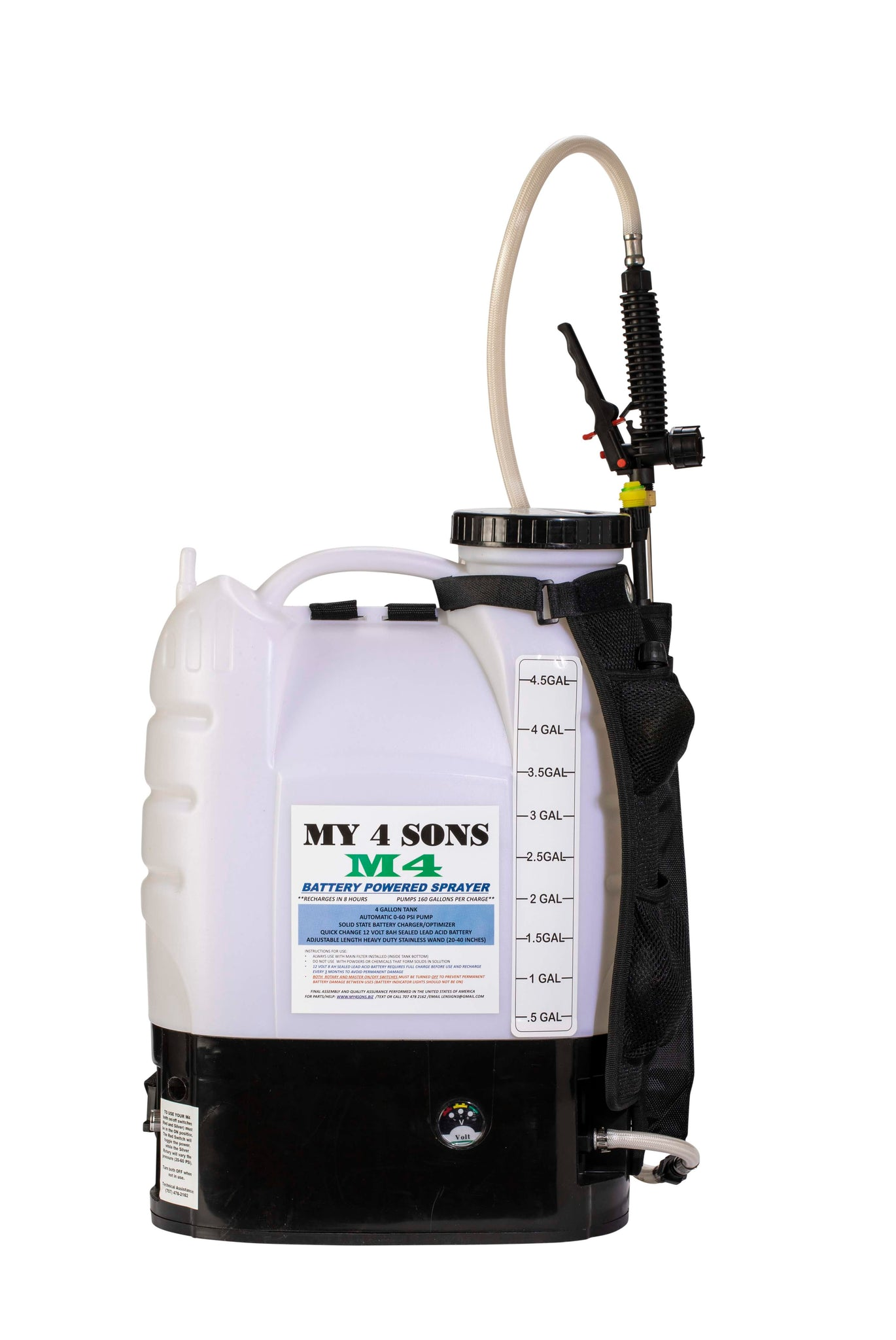 #1 Rated M4 Battery Powered Backpack Sprayer $199.99 (Free Same Day UPS 3-5 Day Shipping) Exclusively sold in the United States **23,000 Sold**