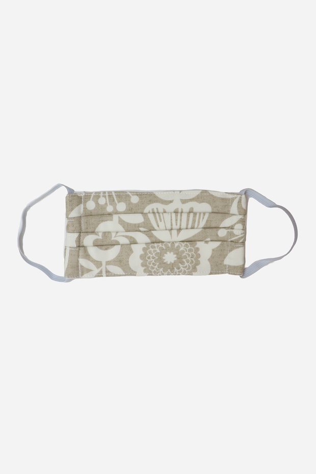 Sand Atomic Floral Face Mask