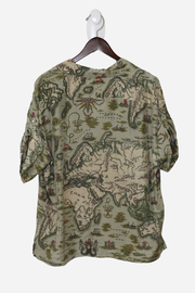 Paramount Map Print Shirt