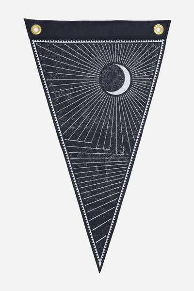 Waxing Moon Flag