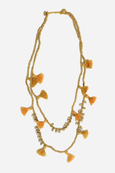 Shanti Necklace - Curry