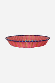 Woven Plastic Round Tray