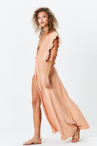 Wynwood Maxi Dress Natural