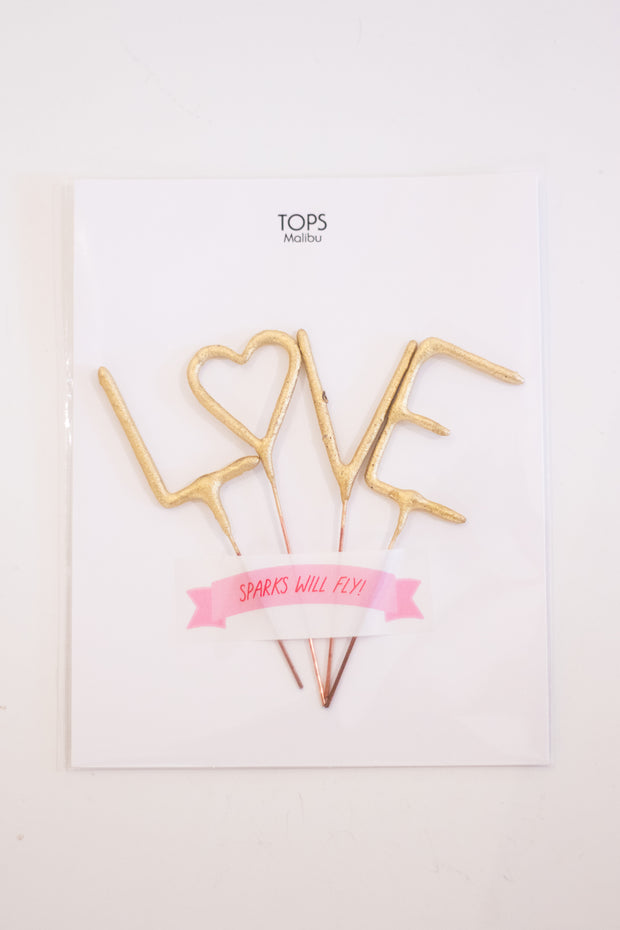 Love Sparkler Card