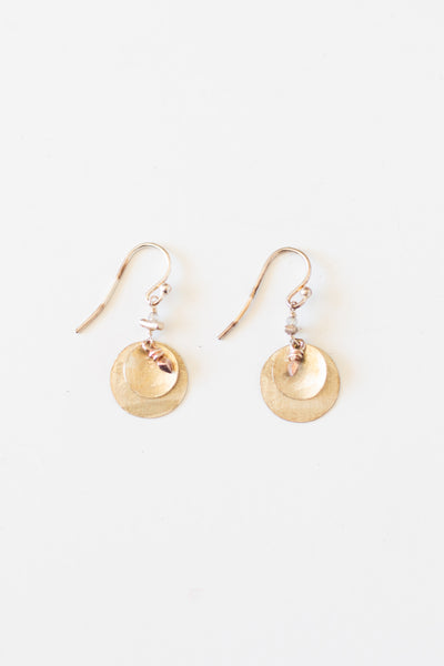 Sterling Silver Circle Earring