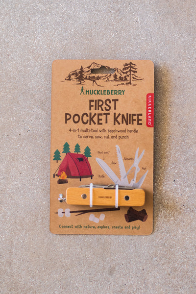 Huckleberry First Pocket Knife