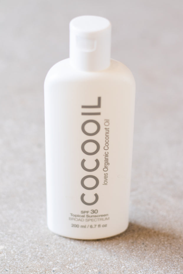 Coco Oil Topical Sunscreen SPF 30