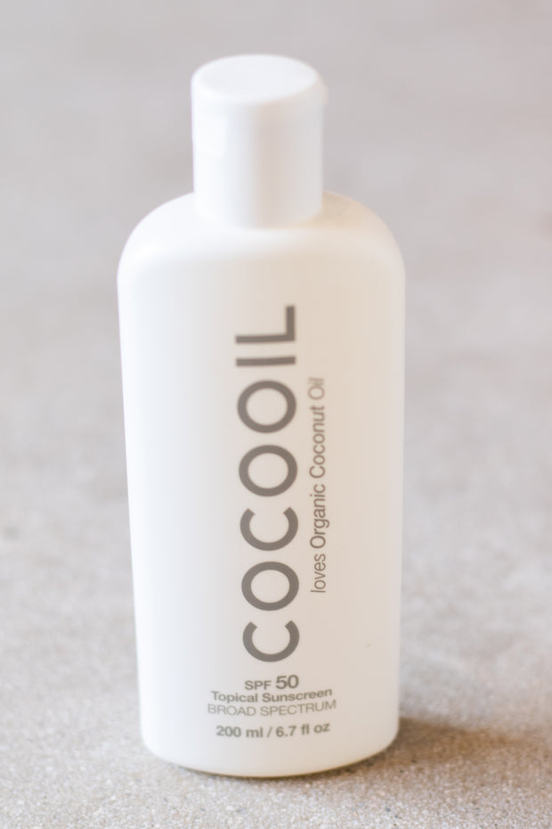 Coco Oil Topical Sunscreen SPF 50