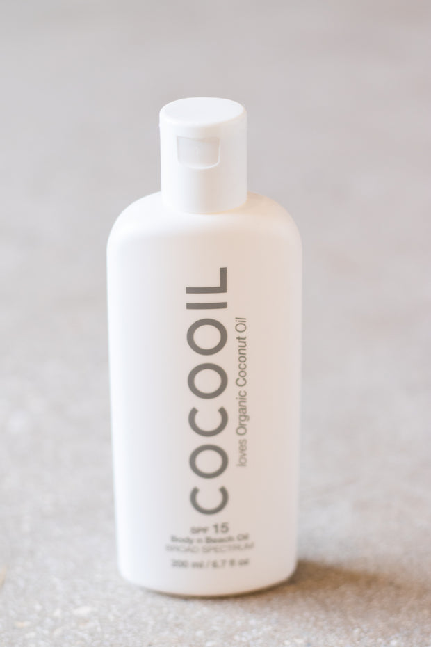 Coco Oil Topical Sunscreen SPF 15