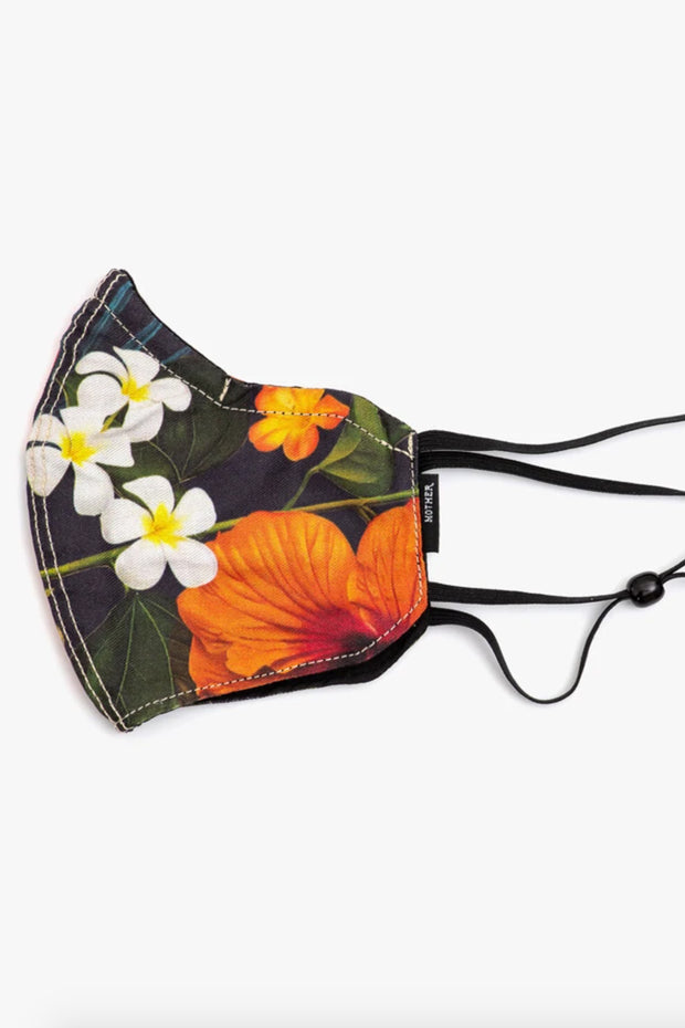 THE ADJUSTABLE DON'T SPRAY IT FLORAL MASK