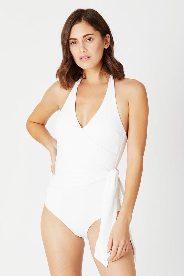 Elena One Piece White