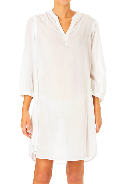 Arya Embroidered Night Shirt