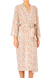 Kelby Print Dressing Gown