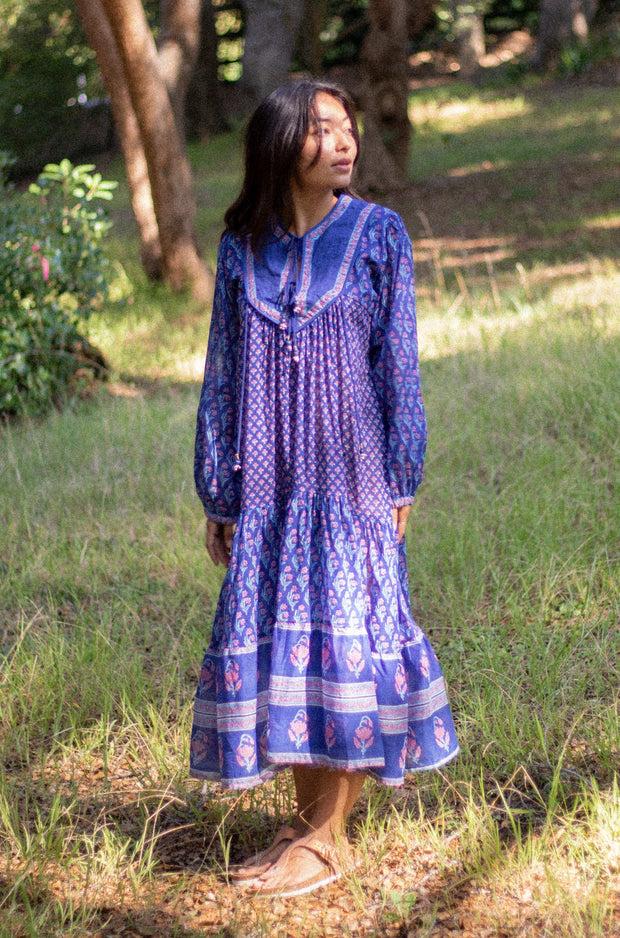 Charolette Printed Long Dress
