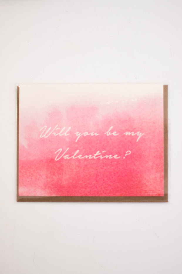Will You be my Valentine? Card