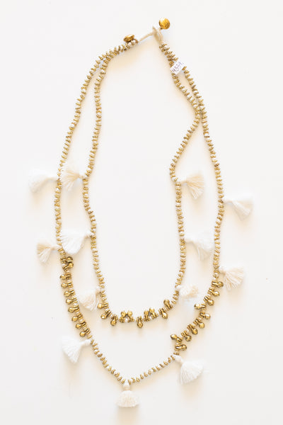 Shanti Necklace - White