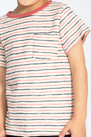 Monterey Stripe Pocket Tee