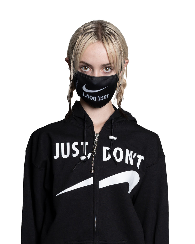 Just, Don't Zip Glitch Hoodie