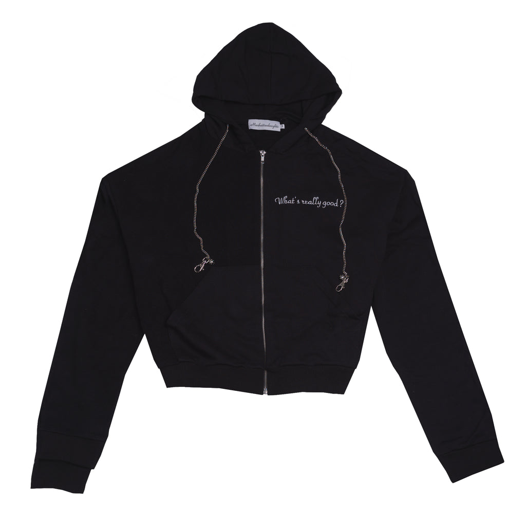 What's Really Good Zip Hoodie