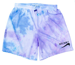 Just, Don't  BB Tie Dye Shorts
