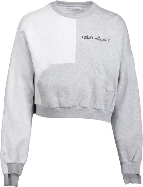 What's Really Good? Crew Sweatshirt