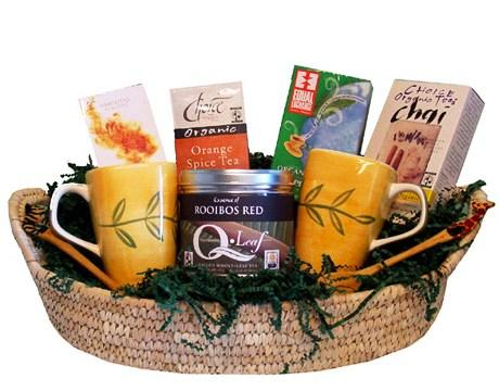 Making Beautiful Eco Friendly Gift Baskets