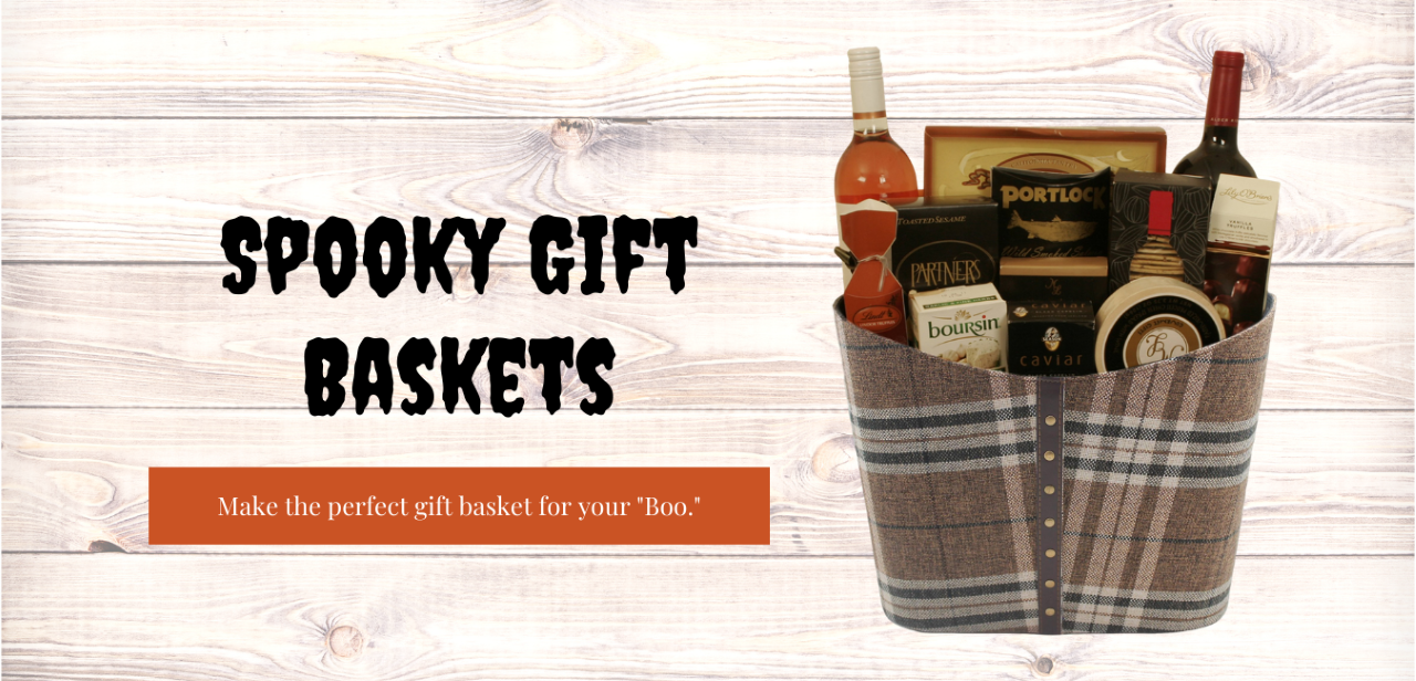 Spooky Gift Baskets