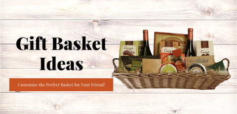 Gift Basket Ideas for Willow Rectangular Basket