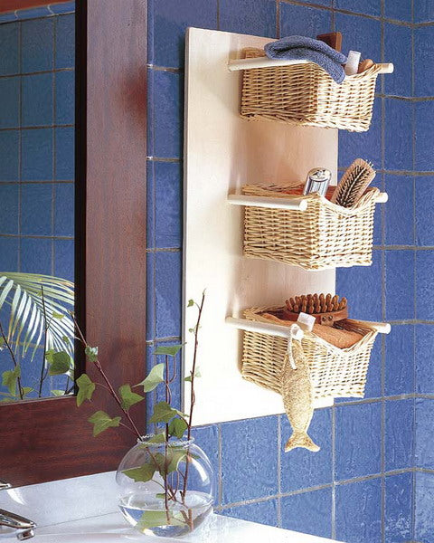 Bathroom Storage Baskets Wicker Project Ideas