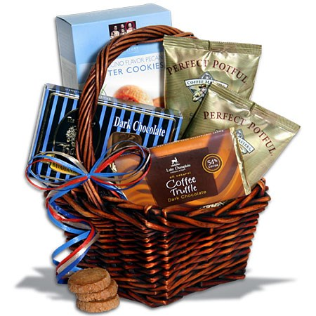 A Coffee Lover's Gift Basket: Terrific Gift Idea for a Coffee Lover
