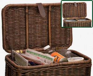 Recycle Bin Wicker Basket Project Ideas