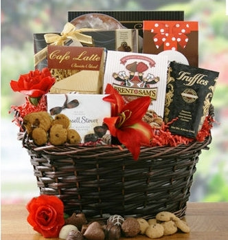 No Valentine's Day or Easter Chocolate Gift Basket