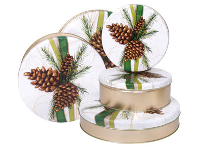 Decorative Customizable Tins