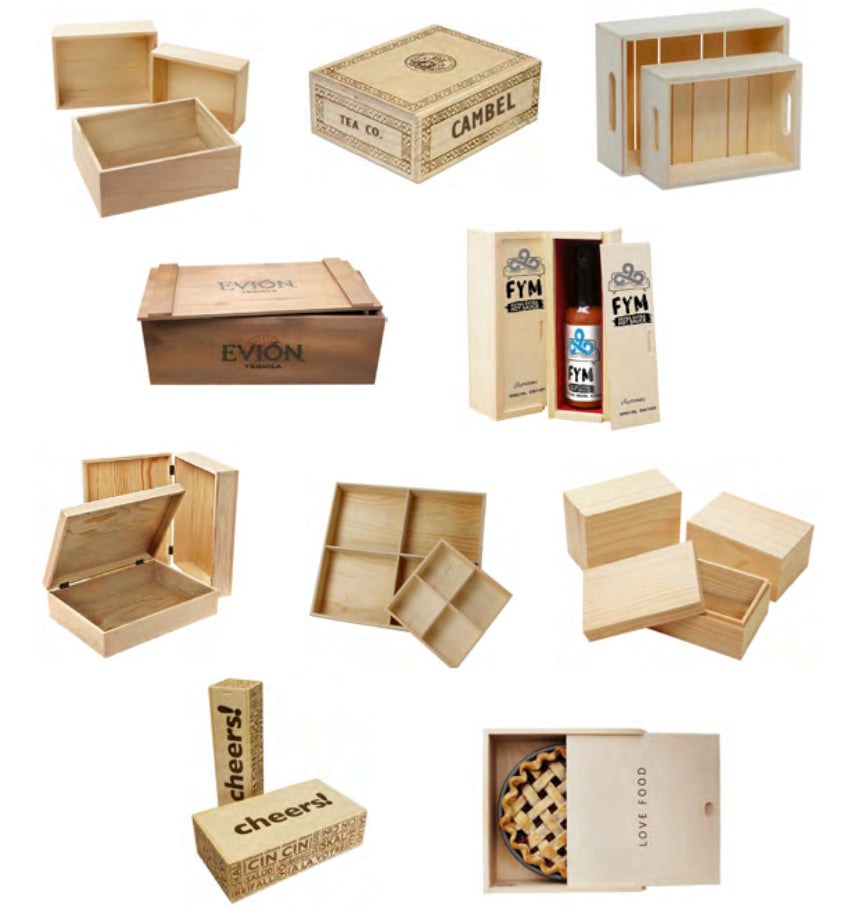 Wald Imports Special Order Wood & Decorative Containers