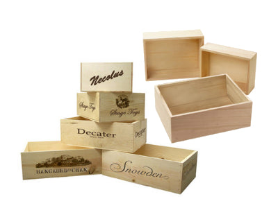 Wood & Decorative Containers