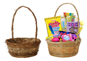 "12"" Rustic Basket Assortment-Wald Imports"