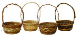 "8.5"" Rustic Basket Assortment-Wald Imports"